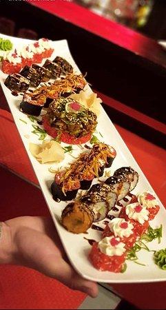 Tirana, Albania: The Bell Sushi Bar