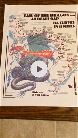 Tail Of The Dragon Robbinsville 2019 All You Need To Know Before - Us-129-tail-of-the-dragon-map