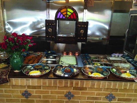 Salad bar buffet