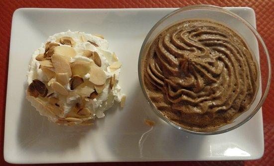 Le Piano Gourmand: Dessert du jour : mousse au chocolat au lait (maison)