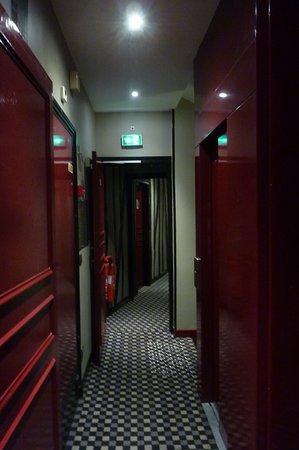 décoration du couloir