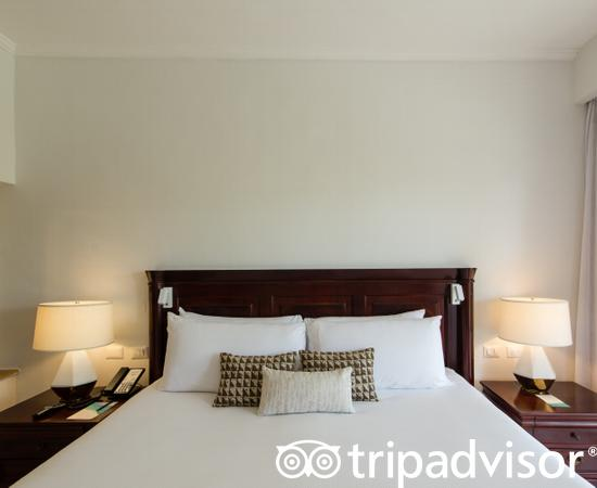 The Level One Bed at the Melia Caribe Beach Resort