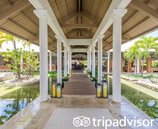 Lobby at the Melia Caribe Beach Resort
