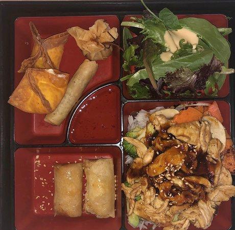 Lunch Box with Chicken Teriyaki