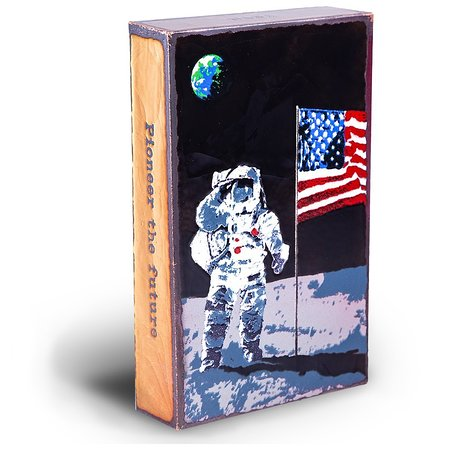 Limited edition Spiritile celebrating 50 year anniversary of the moon landing!