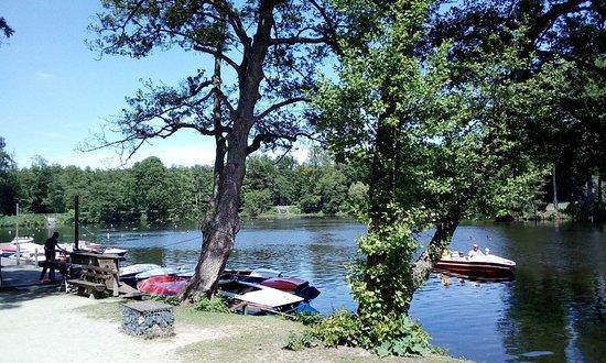Freizeitpark Oberwaldhaus,Bootsverleih und Minigolf am Steinbrücker Teich