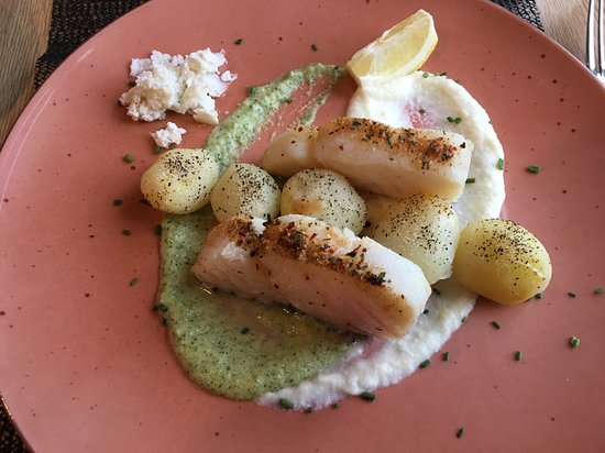 Fosshotel Eastfjords: Fantastic local cod