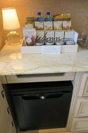 minibar - with electronic sensors
