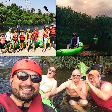 Los Angeles River Kayaking