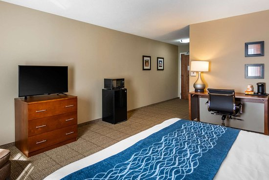Comfort Inn South Chesterfield - Colonial Heights: Spacious guest room