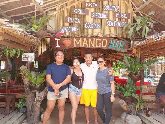 Mango Bar & Restaurant: Friends  From  Blue  Palawan