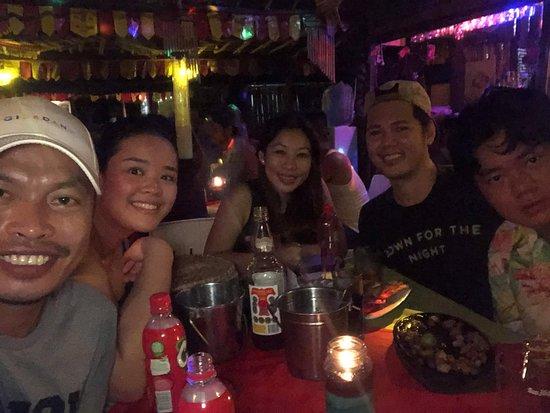 Mango Bar & Restaurant: With  Tabby  And  Mark