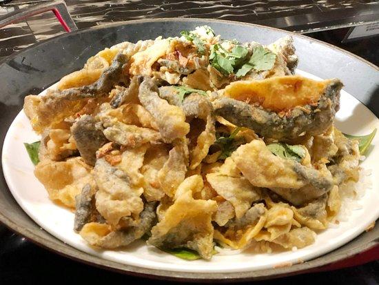 海膽黃金魚皮