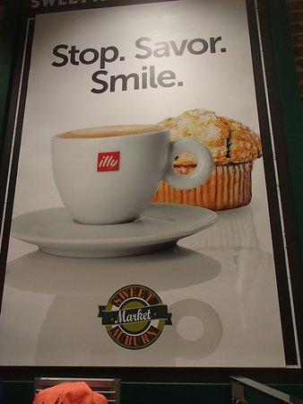 Illy coffee at Sweet Auburn Market, International terminal