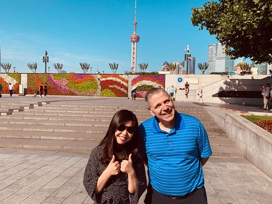 Private Suzhou and Zhouzhuang or Tongli Tour from Shanghai: Other Steve with tour guide Lily
