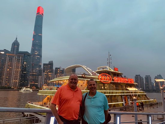 Private Suzhou and Zhouzhuang or Tongli Tour from Shanghai: Night tour of Shanghai 1