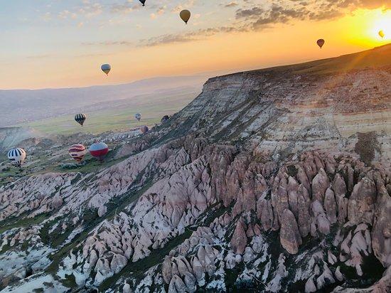 Cappadocia, Turkey: Just taking off!!