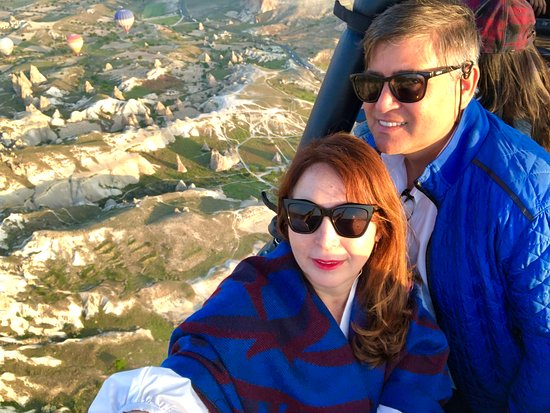 Flying over Cappadocia with Royal Balloon!!