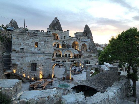 Cappadocia, Turkey: Göreme at dusk!!