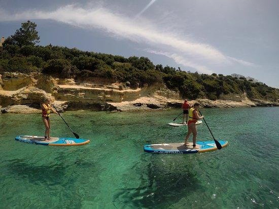 SUP in Crete