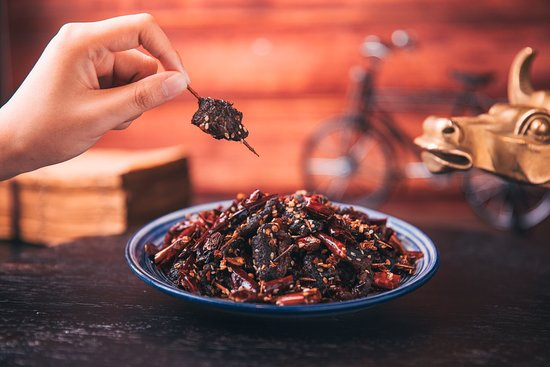 David's Hotpot Restaurant: Classical Spicy Beef Jerky