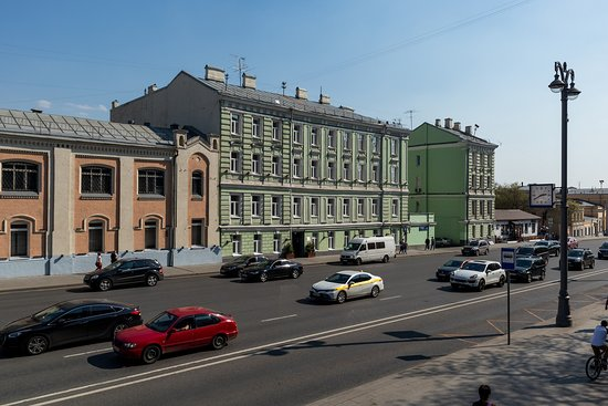 Das Hotel von außen.
