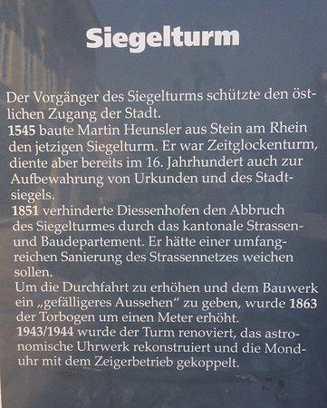 Diessenhofen, Switzerland: Geschichtlicher Hintergrund