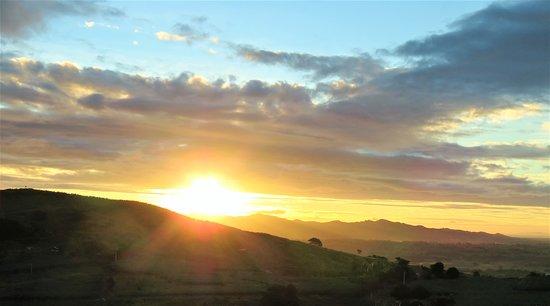 Sunset from Starlight Lodge,Ba,Fiji Islands