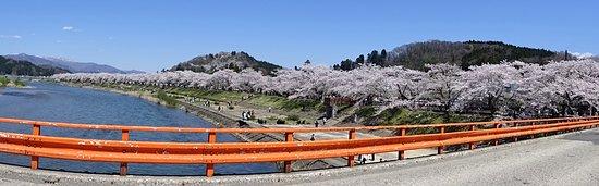 横町橋からのパノラマ写真
