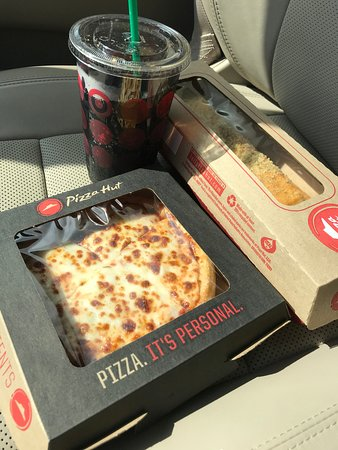 My Lunch Combo From Pizza Hut Picture Of Pizza Hut Express Newark Tripadvisor