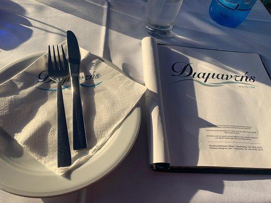 Síviri, Görögország: Посоветовал людям посетить таверну DIAMANTHIS в Сивири и услышал много хорошего о таверне и благодарность за хороший совет. Молодцы  !