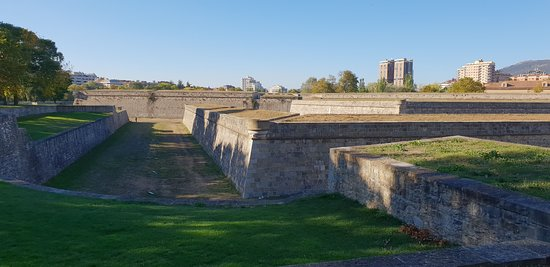 Fortress and Walls of Pamplona