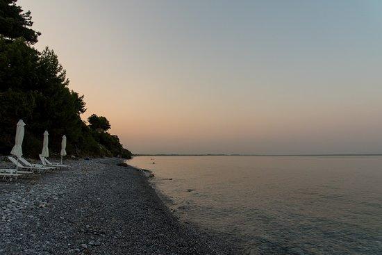 Camping Sylvia: Camping beach