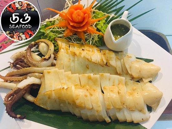 باكتشونغ, تايلاند: ปลาหมึกย่างแน่นๆ