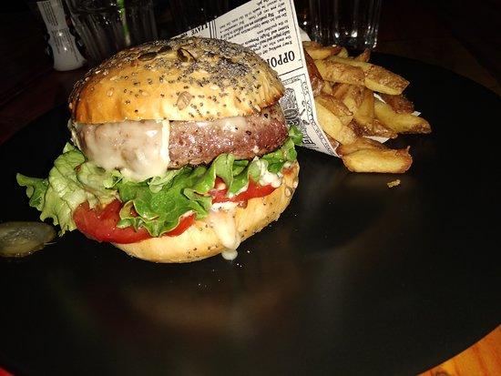 Classic burger au reblochon