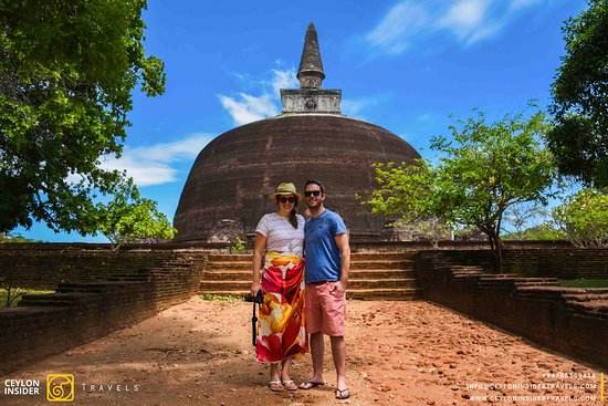Visit the ancient heritage sites in Sri Lanka.