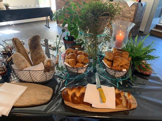 Chateau Maison Blanche Yvorne: Bonne diversité des pains