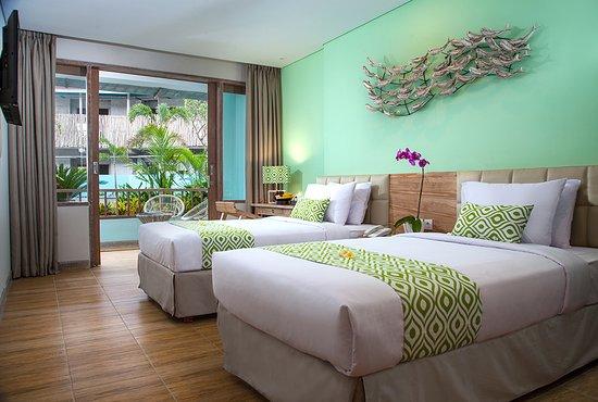 Mahagiri Resort: Twin share! Tag your travel buddy 💚