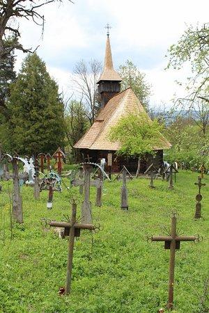 Maramures County, Romania: Wooden church in Breb | Breb, Maramureș, Romania