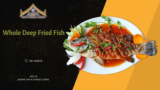 Whole Trout Fish (Thai Style)