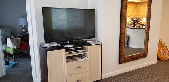 Sand Dollar Villa 8731 TV in Living Area