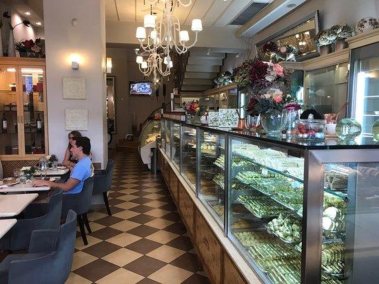 Overpriced local dessert shop