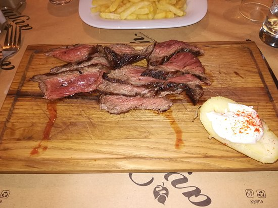 Rodopoli, Grecia: Flap steak
