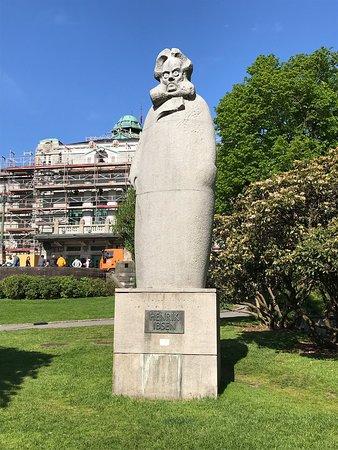 Henrik Ibsen Statue