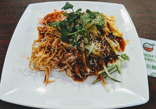 Chen's Noodle: 周蕫凉面/Husband's favorite cold noodle