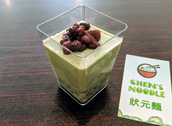Chen's Noodle: 抹茶补丁/ Mocha Pudding