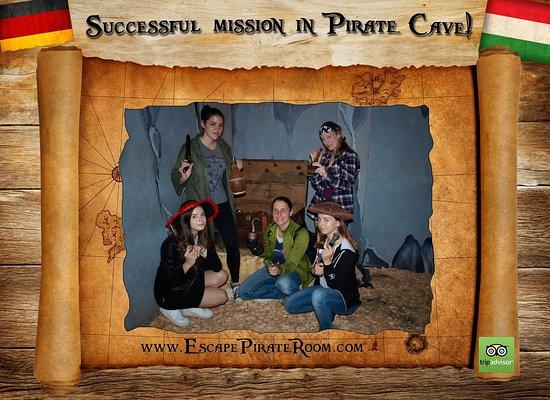 Successful mission in Pirate Cave!