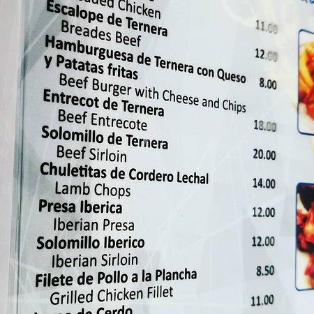 Benalmadena, Spain: Buenos precios