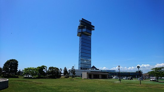 Oarai Marine Tower: 大洗海洋塔外觀