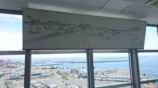 Oarai Marine Tower: 大洗海洋塔觀景臺